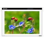 "Ladybug Garden 17"" Laptop Skins"