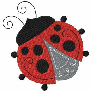 Ladybug Garden Embroidered Hoody