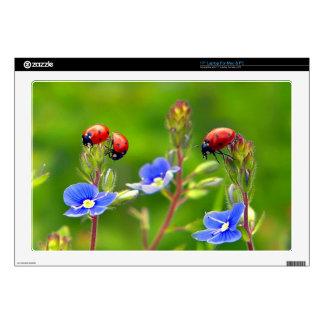 Ladybug Garden Laptop Skin