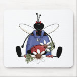 Ladybug Garden Mouse Pads