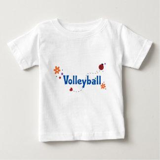 Ladybug Garden Volleyball Baby T-Shirt