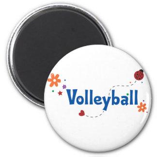 Ladybug Garden Volleyball Magnet