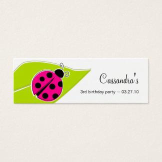Ladybug Gift Tags