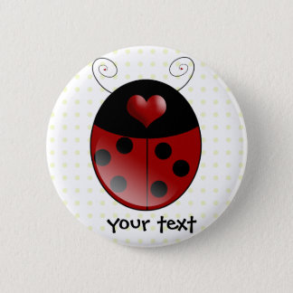 Ladybug Gifts Button