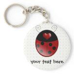 Ladybug Gifts Keychain