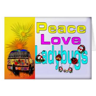 Ladybug Greetings Card