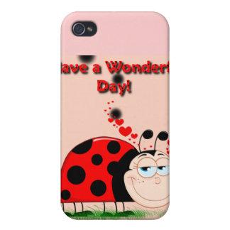 Ladybug Happiness iPhone 4/4S Case