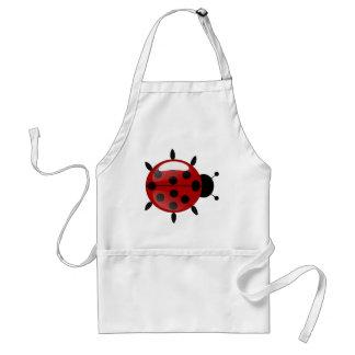Ladybug Illustration Adult Apron