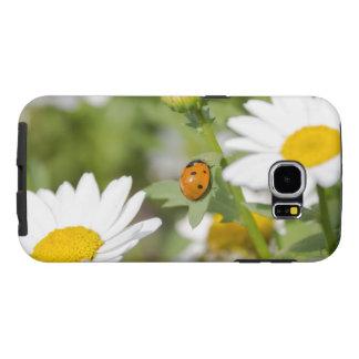 Ladybug in a Daisy Garden Samsung Galaxy S6 Case