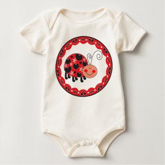 Ladybug Infant Baby Bodysuit