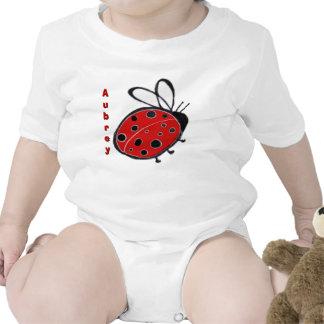Ladybug Infant Creeper Customizable