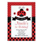 Ladybug Invitation / Lady Bug Invitation