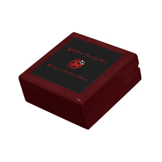 Ladybug Jewelry Box Ladybug Keepsake Personalized