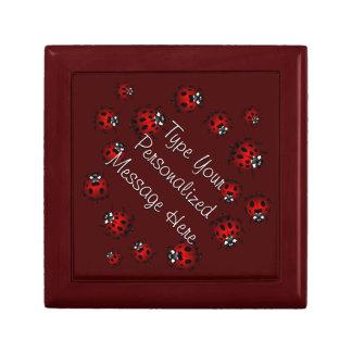 Ladybug Jewelry Box Personalized Keepsake Box Gift