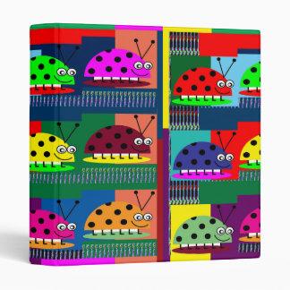 LADYbug KIDS FUNNY Comic Collection Art PHOTOS FUN Binder