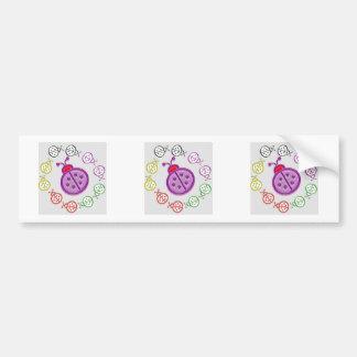 LadyBUG  KIDS love LADY BUG GIFTS Shirts Greetings Bumper Sticker