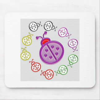 LadyBUG  KIDS love LADY BUG GIFTS Shirts Greetings Mouse Pad