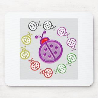 LadyBUG  KIDS love LADY BUG GIFTS Shirts Greetings Mouse Pad