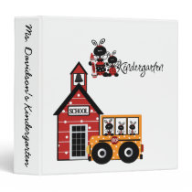 Ladybug Kindergarten  Binder