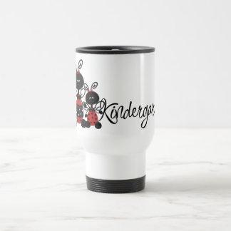 Ladybug Kindergarten Tshirts and Gifts 15 Oz Stainless Steel Travel Mug