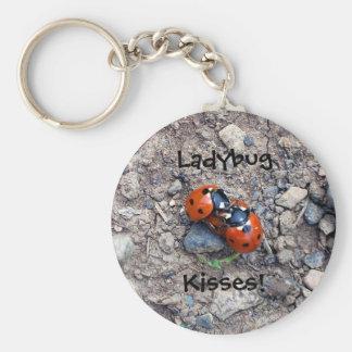 Ladybug Kisses Key Chains
