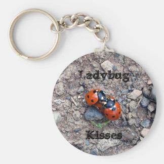 Ladybug Kisses Keychains