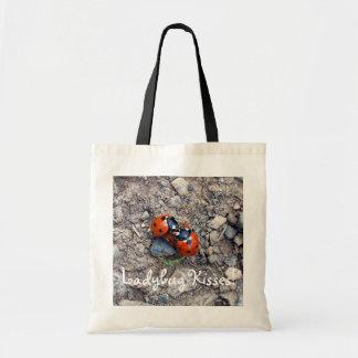Ladybug Kisses Tote Bag
