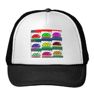 LadyBug Lady BUG Colorful Artistic Touch Fantasy Trucker Hat