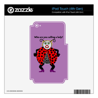 Ladybug Lady Bug Funny iPod Touch 4G Decals