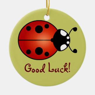 Ladybug Ladybird Beetle Good Luck Ornament