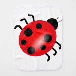 Ladybug - Ladybird Burp Cloth