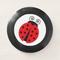 Ladybug Ladybird Cartoon Wham-O Frisbee
