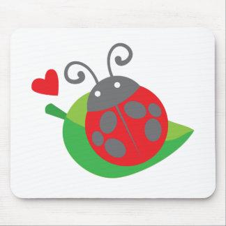 ladybug ladybird mouse pad