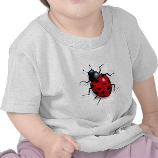 Ladybug, Ladybird: Original Realistic Artwork Tee Shirts