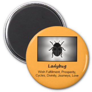 Ladybug Ladybird Totem Animal Spirit Meaning Magnet