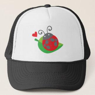 ladybug ladybird trucker hat