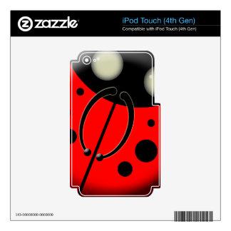 Ladybug, Ladybug iPod Touch 4G Skins