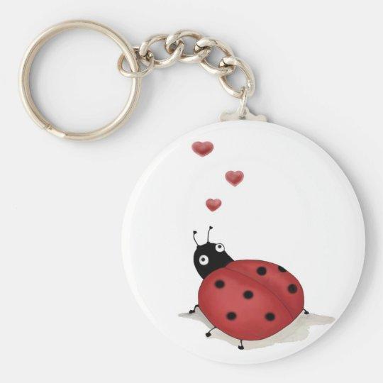 Ladybug Ladybug  Keychain