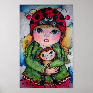 Ladybug! Ladybug! Poster! U Choose Size