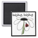 Ladybug Ladybug Tshirts and Gifts 2 Inch Square Magnet