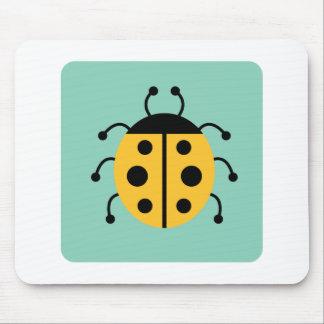 Ladybug Ladybugs Bug Bugs Funny Insect Cute Mouse Pad