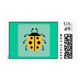 Ladybug Ladybugs Bug Bugs Funny Insect Cute Postage