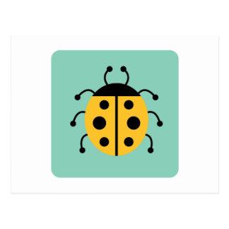 Ladybug Ladybugs Bug Bugs Funny Insect Cute Postcard