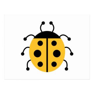 Ladybug Ladybugs Bug Bugs Insect Cute Animal Postcard