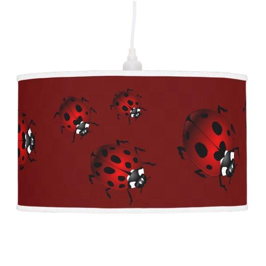 Ladybug Lamp Ladybird Art Lamp Ladybug Decor