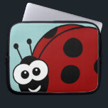 "Ladybug Laptop Sleeve<br><div class=""desc"">Cute little ladybug sleeve for your gear. Awesome for anyone who loves ladybugs.</div>"
