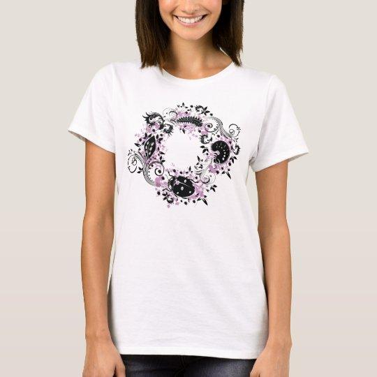 Ladybug Life Cycle T-Shirt - Purple