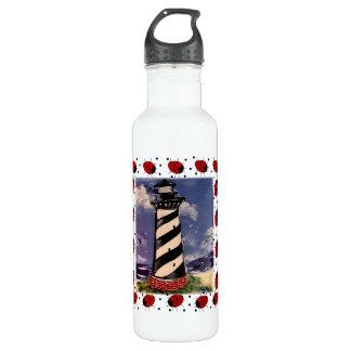 Ladybug Lighthouse 24oz Water Bottle