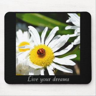 Ladybug Live Your Dreams Mousepad