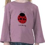 Ladybug Long Sleeved Girls Shirt